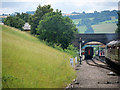 SP0532 : GWSR approaching Toddington from the north by David Dixon