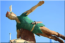 NX9575 : Peter Pan in Colour, Dumfries by Billy McCrorie