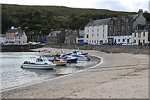 NO8785 : Stonehaven Harbour by Anne Burgess