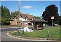 TQ0347 : Outside Chilworth Station by Des Blenkinsopp