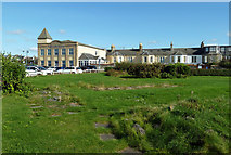 NS3321 : Former crazy golf site by Mary and Angus Hogg
