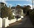 SX6447 : Lane at Kingston Plain by Derek Harper