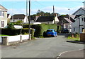 SN4324 : Dead-end road in Peniel, Carmarthenshire by Jaggery