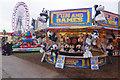 SK5641 : Play darts - Goose Fair by Stephen McKay
