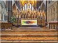 SO8554 : The High Altar, Worcester Cathedral by David Dixon