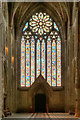 SO8454 : West Window and Doorway, Worcester Cathedral by David Dixon