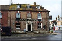 SY9287 : Red Lion Hotel, Wareham by Derek Harper