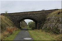 SK1462 : Bridge over the Tissington Trail by Chris Heaton
