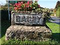 SE4680 : Bagby village sign, Bagby Lane by John S Turner
