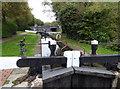 SO9086 : Stourbridge Canal - lock No. 4 by Chris Allen