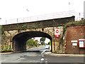 SE4432 : Micklefield railway bridge by Stephen Craven