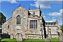 SK4665 : Ault Hucknall, St. John the Baptist Church: Western aspect by Michael Garlick