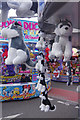 SK5641 : Hook-a-Duck and other stalls, Goose Fair by Stephen McKay