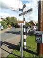 TL7818 : Signpost on Station Road by Adrian Cable