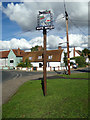 TL7818 : White Notley Village sign by Adrian Cable