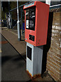 TL7818 : Permit to travel machine at White Notley Railway Station by Adrian Cable