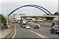 O0830 : Bridge over the N7 (Naas Road) by David Dixon