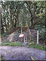 SE3734 : Path closed, Thorpe Park by Stephen Craven