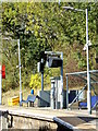TL7818 : CRT Monitor at White Notley Railway Station by Adrian Cable