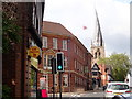 SK3871 : Crooked Spire, Chesterfield by Eirian Evans