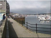 SW8132 : Falmouth waterfront and quays by Jonathan Wilkins