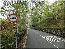 SH6441 : B4410 at Tan-y-Bwlch by Gerald England
