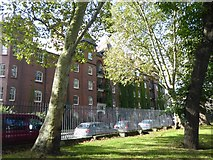TQ3581 : Dunstan House, Stepney Green by Marathon