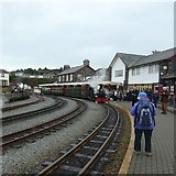 SH5738 : Porthmadog Harbour Station by Gerald England