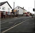 SJ2863 : Brunswick Road pelican crossing, Buckley by Jaggery
