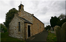 NY9257 : St Helen, Whitley Chapel - south-west elevation by David Kemp