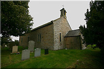 NY9257 : St Helen, Whitley Chapel - north-west elevation by David Kemp