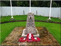 TQ0683 : War Memorial at former RAF Uxbridge by Andrew Curtis