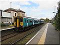 SJ2963 : Bidston train at Buckley Station by Jaggery