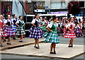NO8785 : Feein Market, Scottish Dancing, Stonehaven by Alex Passmore