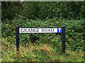 TL4094 : Grange Road sign by Adrian Cable