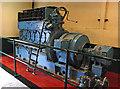 SN2949 : Internal Fire Museum of Power - Ruston diesel engine by Chris Allen