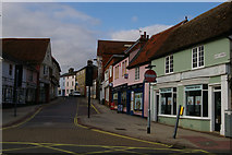 TM0458 : Bury Street, Stowmarket by Christopher Hilton