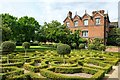 SJ9304 : The Knot Garden at Moseley Old Hall by Jeff Buck