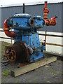 SN2949 : Internal Fire Museum of Power - compressor by Chris Allen