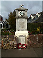 TL9228 : Fordham War Memorial by Adrian Cable