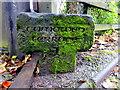 H4672 : Stone inscribed Camowen Terrace 1 by Kenneth  Allen