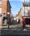 SO4958 : North along School Lane, Leominster by Jaggery