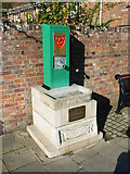 SY9287 : Water pump, Wareham by Brian Robert Marshall