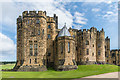 NU1813 : Keep, Alnwick Castle by Ian Capper
