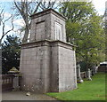 NJ3512 : Mitchell-Forbes mausoleum, Strathdon kirkyard by Bill Harrison
