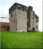 NS3274 : Newark Castle by Richard Sutcliffe