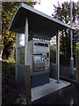 TL9033 : Ticket Machine at Bures Railway Station by Geographer