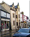SH7877 : Tenovus charity shop, High Street, Conwy by Jaggery