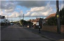 TQ7471 : Higham Road, Wainscott by David Howard