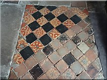 SO4465 : Medieval floor tiles by Philip Halling